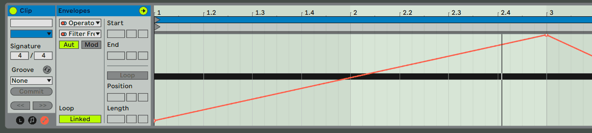 Ableton Automation on the same parameter