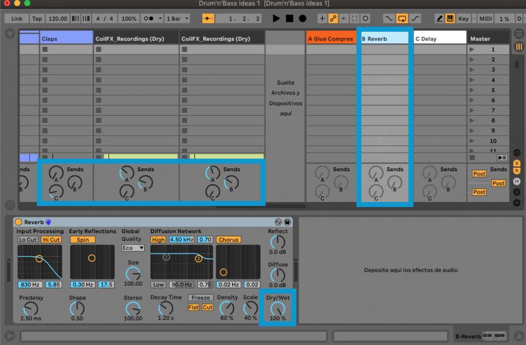 TIPS TO SET UP YOUR NEW ABLETON LIVE PROJECT - next track music production