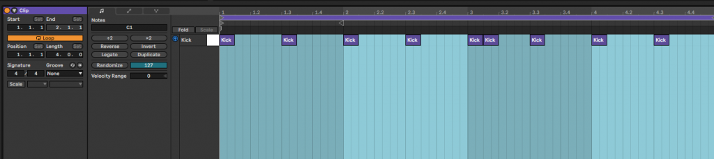 Make a beat using sounds recorded in your kitchen samples ableton live looping drums kick snare percussion